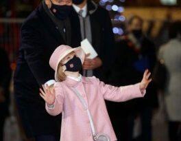 Gabriella de Mónaco, a sus 6 años, ya es todo un icono de la moda