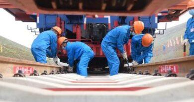 China y Laos se unen con nuevo paso ferroviario internacional