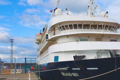 Terminales multipropósito de Puerto de Troon reciben cruceros