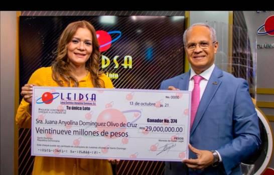 Doctora de Santiago gana 29 millones en LEIDSA